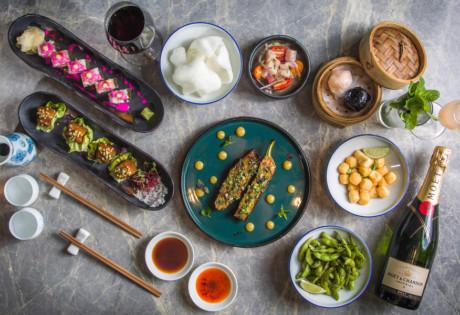new brunches in hong Kong Fang Fang Asian Fiesta