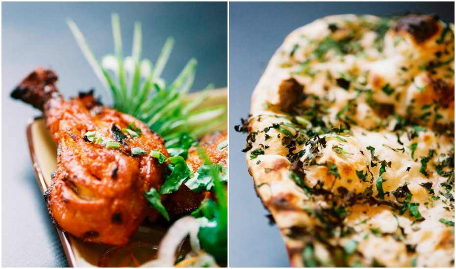 Chicken Tandoori and Herb Naan (Credit: Kinara via Facebook)