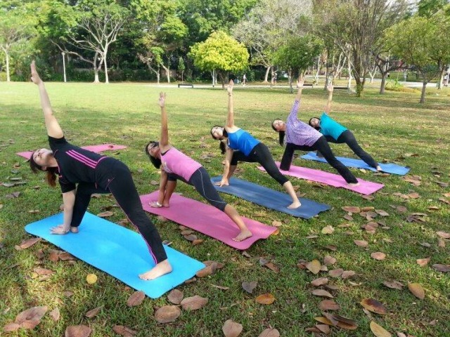 Salute The Sun Outdoor Yoga Classes This Summer