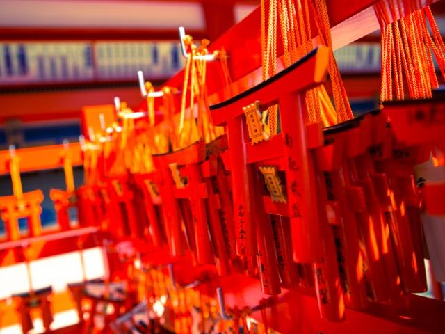 japanese shrine kyoto