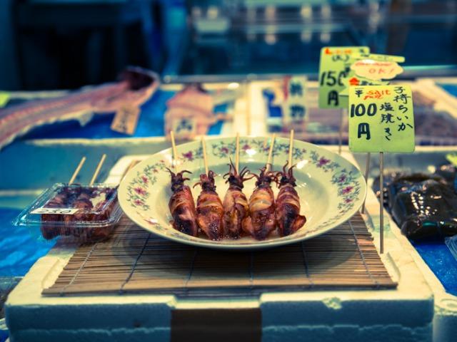 japanese street food kyoto