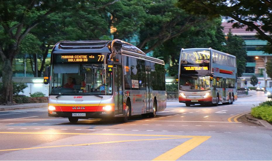 Buses | Getting around Singapore