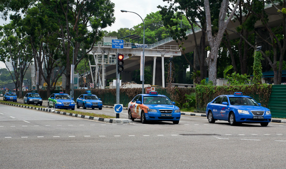 Taxis | Cabs | Getting around Singapore