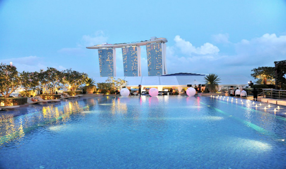 Swimming Pools In Singapore Five Star Hotels With The Best Infinity Rooftop And Outdoor Pools