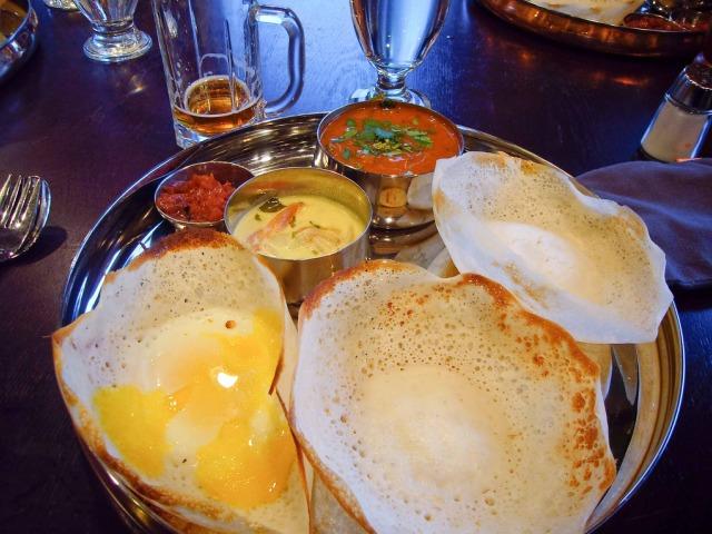 Egg Hoppers | Palmyrah Restaurant