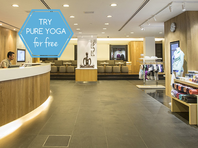 Yoga Studios In Singapore Pure Yoga At Ngee Ann City