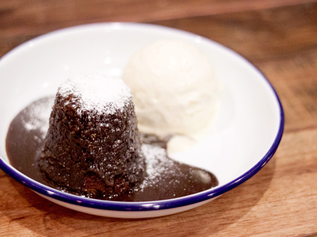 The Lokal Stick date pudding