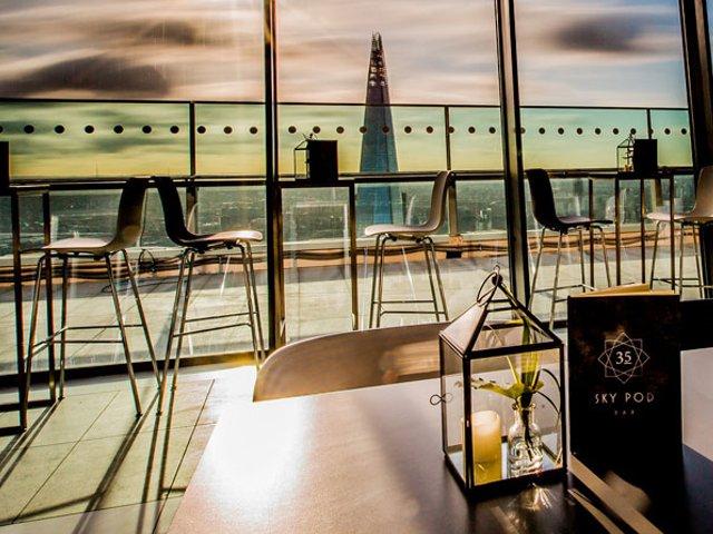 Sky Pod Bar in London