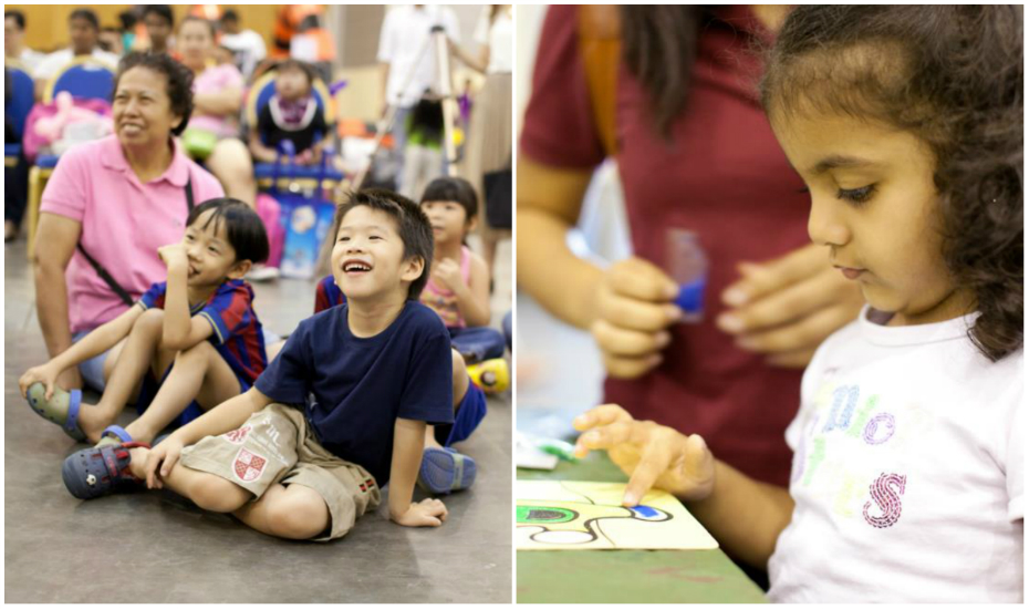 volunteering in singapore with kids