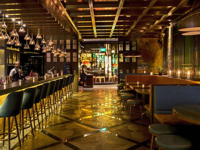 Restaurant Review: Long Chim's bar entrance