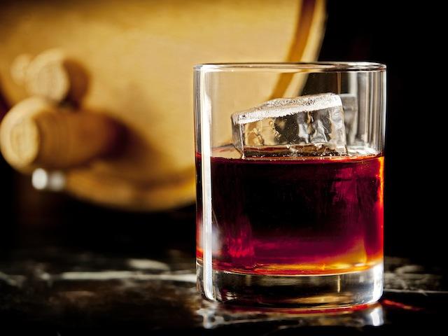 28HKS - Drinks - Barrel Aged Negroni