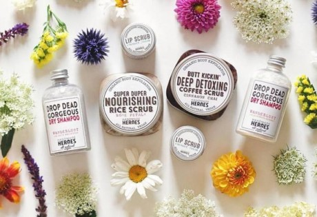 Locally made skincare