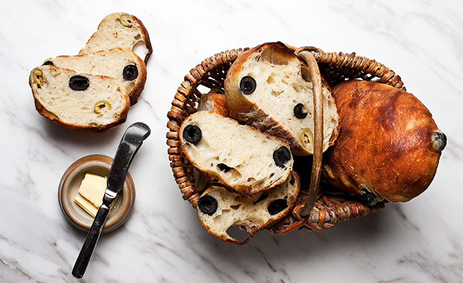 Olive Bread from Artisan Boulangerie Co. (Credit: Artisan Boulangerie Co.)