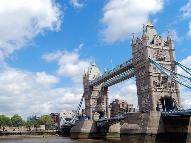 The magnificent Tower Bridge in London