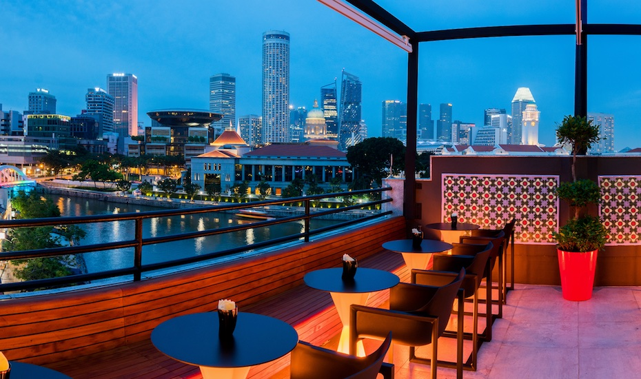 Rooftop Bars In Singapore Swanky Sky High Drinking Spots