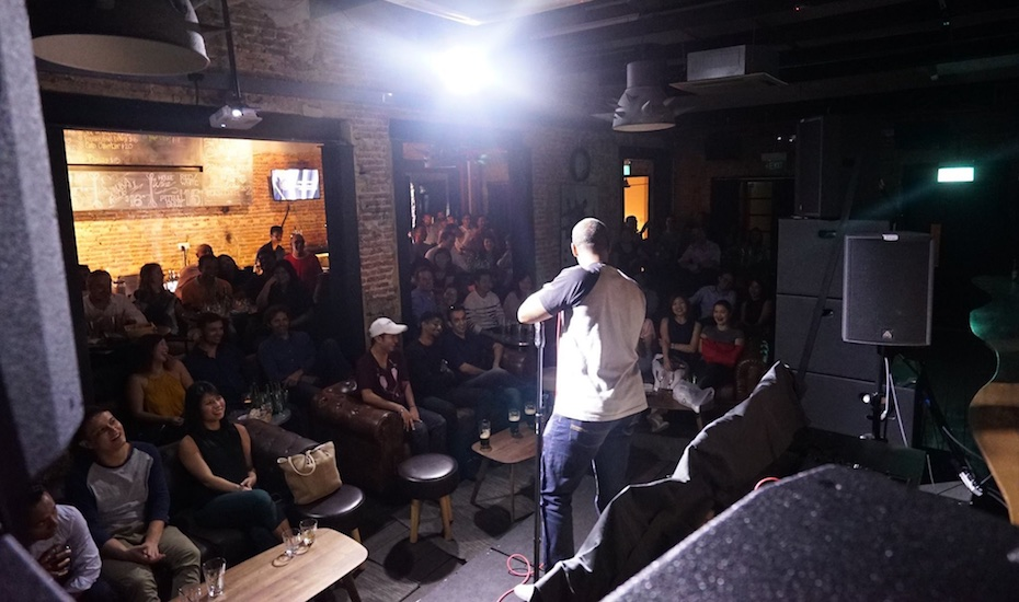Comedy nights and stand-up shows in Singapore for a good laugh