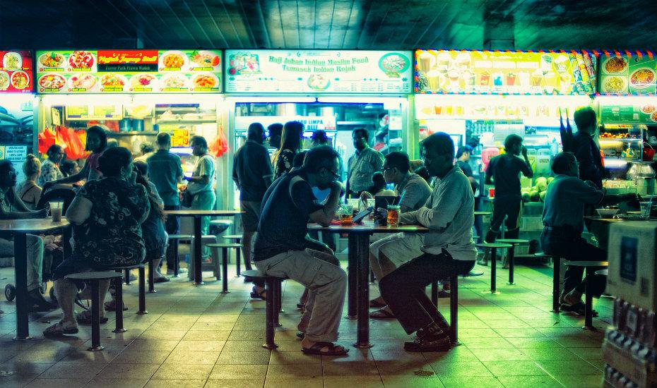 Tekka Market hawker food centre (Credit: Flickr/Jon Siegel)