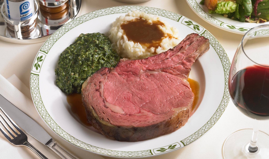 Lawry's The Prime Rib (via Facebook)