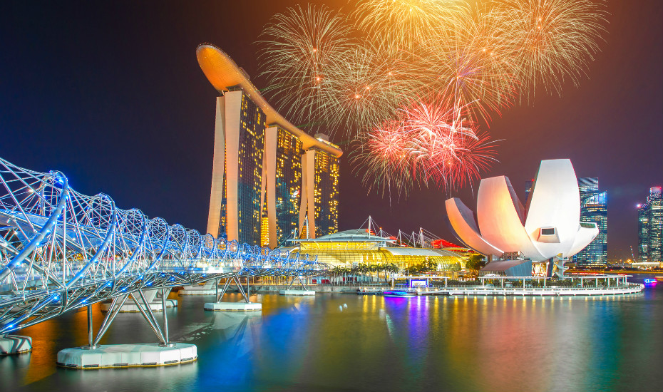 Where to watch fireworks in Singapore on New Year's Eve 2018 and other major celebrations