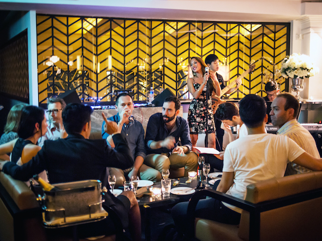 Live music in Singapore: The Powder Room presents The Alicia Affair