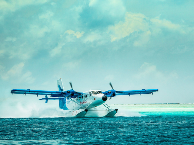 Seaplane transfer to and from Maalifushi by COMO Maldives
