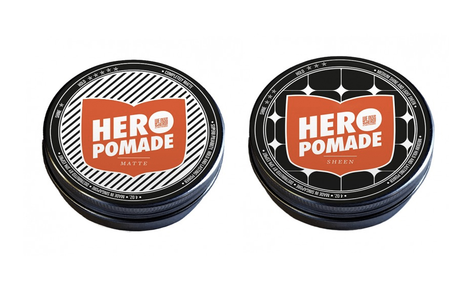 Hero Pomades (Credit: We Need A Hero)