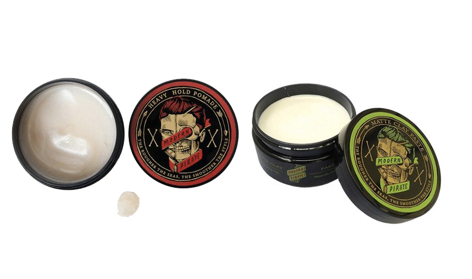 Modern Pirate pomades from Snob Mansion (Credit: Snob Mansion)