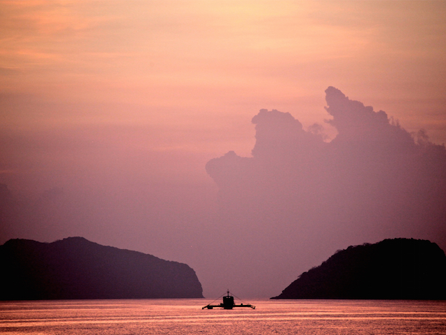 Ariara Island at Palawan, Philippines