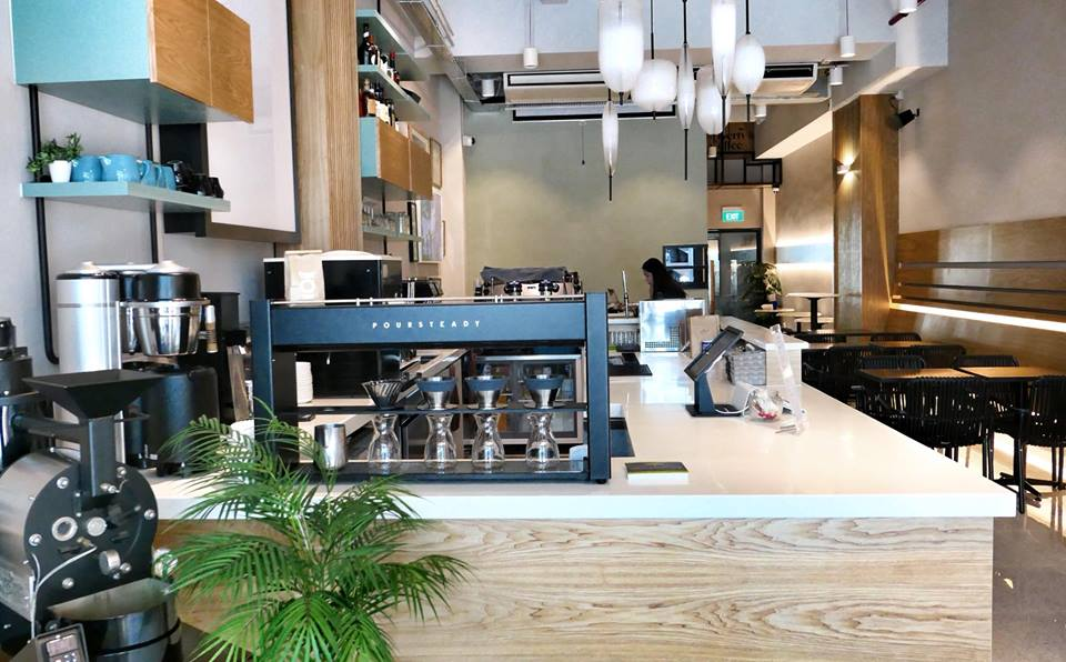 Liberty Coffee in Jalan Besar, Singapore