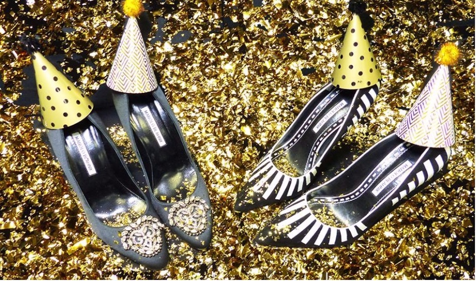 Manolo party shoes