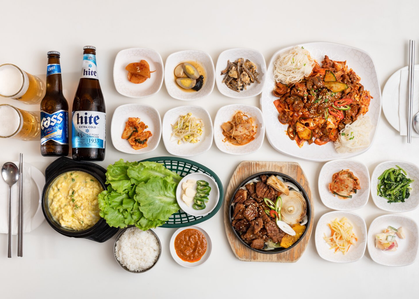Korean BBQ restaurants in Singapore: Hanwoori Korean food Serangoon Gardens
