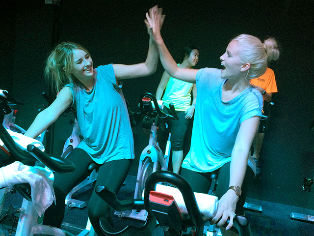 Fitness Review Hit Spinning Studio Anthem For A High Energy