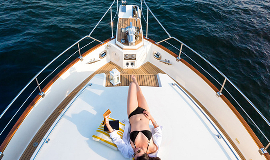 Sail away at one of the international luxury yachts at Marina at Keppel Bay!