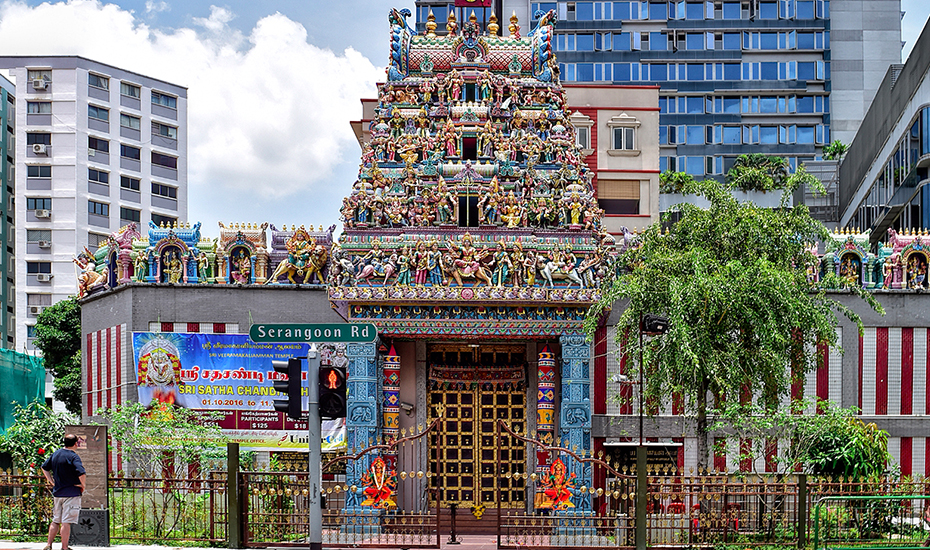 553c5d1b7 Sri Veeramakaliamman Temple in Little India (Photo Credit: The Honey  Combers) ...