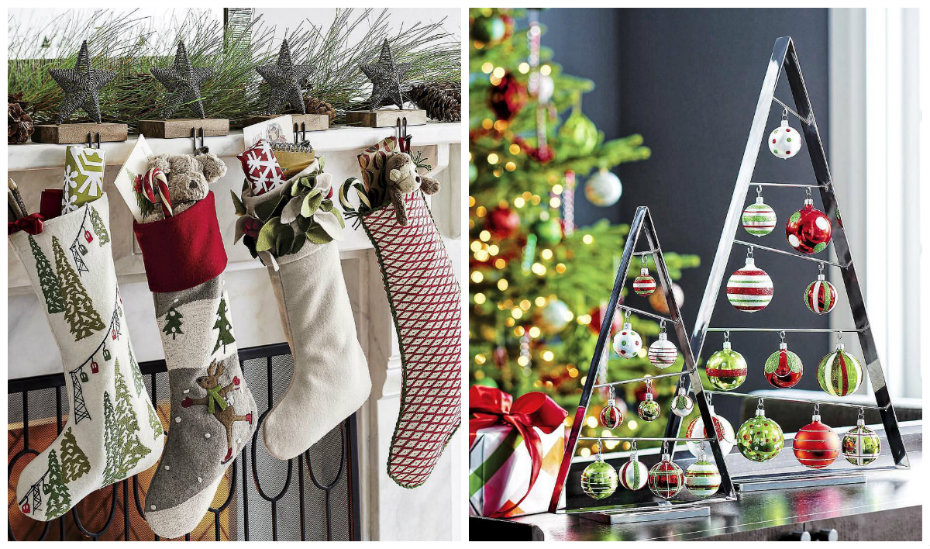 Where to get Christmas decorations in Singapore: Crate and Barrel