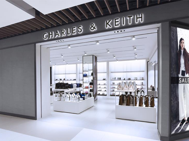 Charles & Keith outlet store at IMM