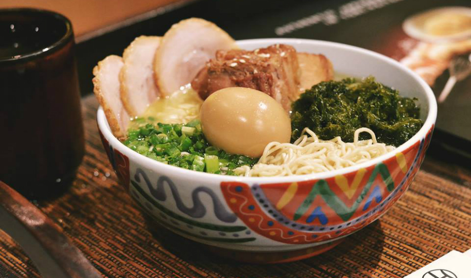 Marutama uses chicken extract for its broth instead of pork