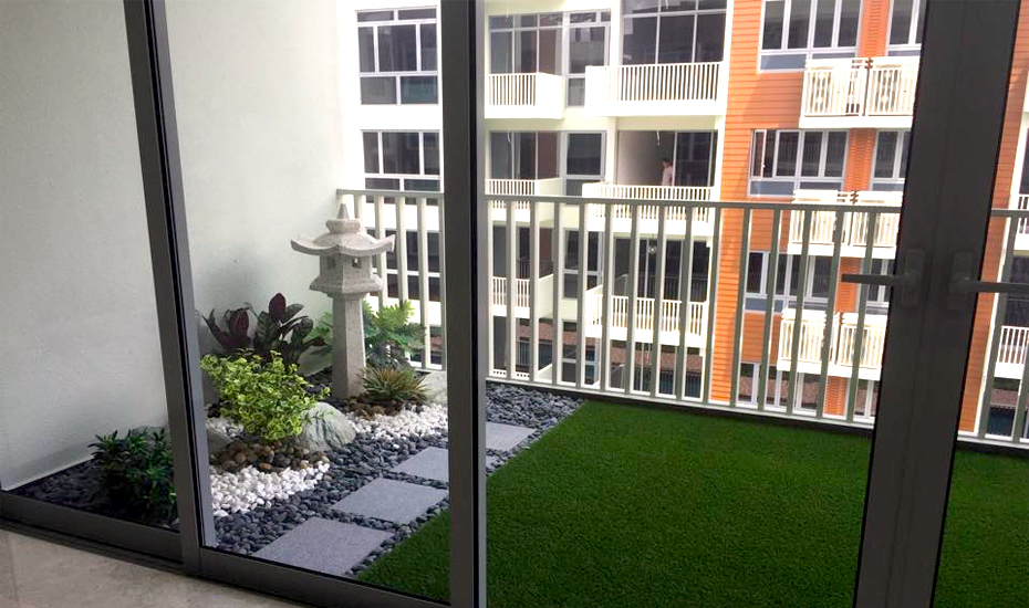 Turn your balcony into a mini green space with Tai Kwang's Royal Grass! (Credit: Tai Kwang via Facebook)