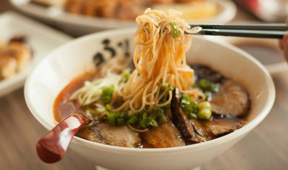 Uma Uma Ramen is a perfect post-shopping treat in Orchard