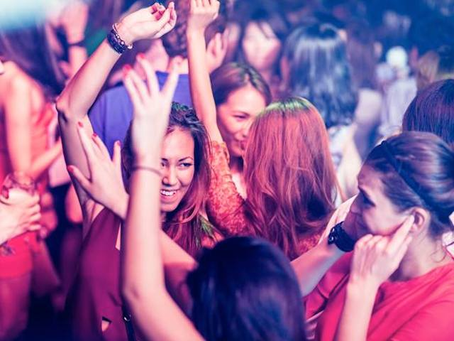Don't mope! Grab the ladies and have a girls' night out (Photo credit: CÉ LA VI Singapore)