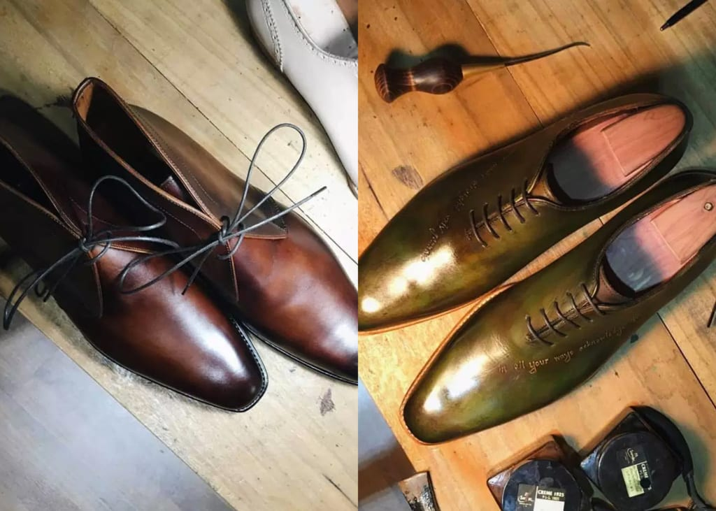 52138546342f Bespoke men's shoes in Singapore: Where to custom make formal wedding  footwear for grooms
