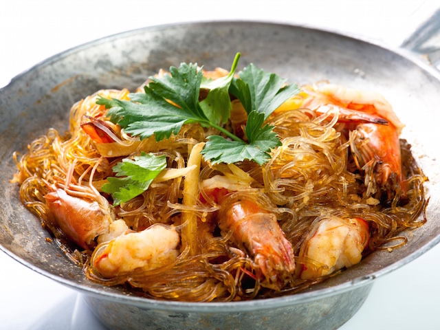Seafood glass noodles (Photo credit: Jai Thai)