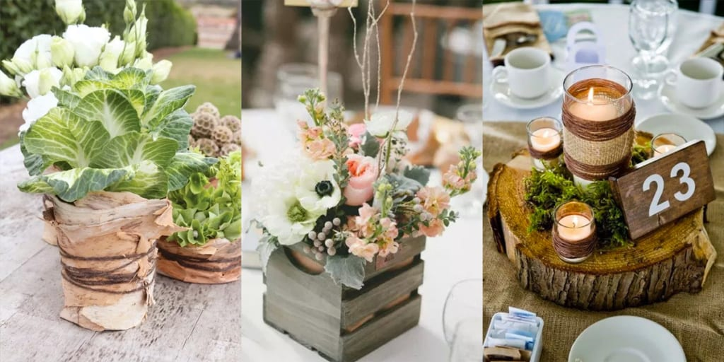 Rustic Wedding Decor Ideas Guide To Country Inspired