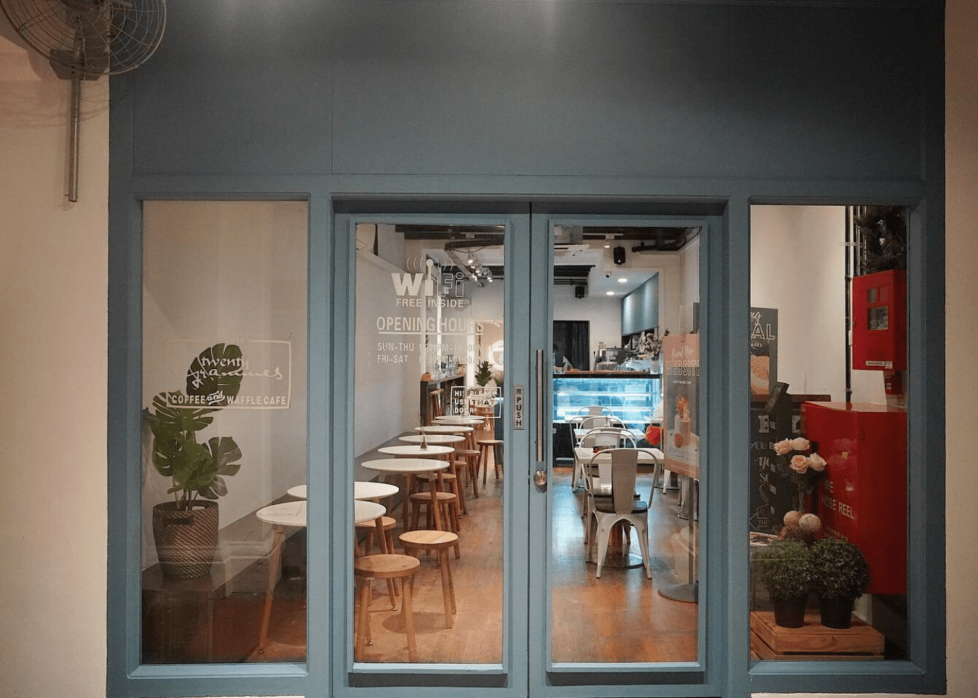Twenty Grammes | Cafes in Singapore with free wifi