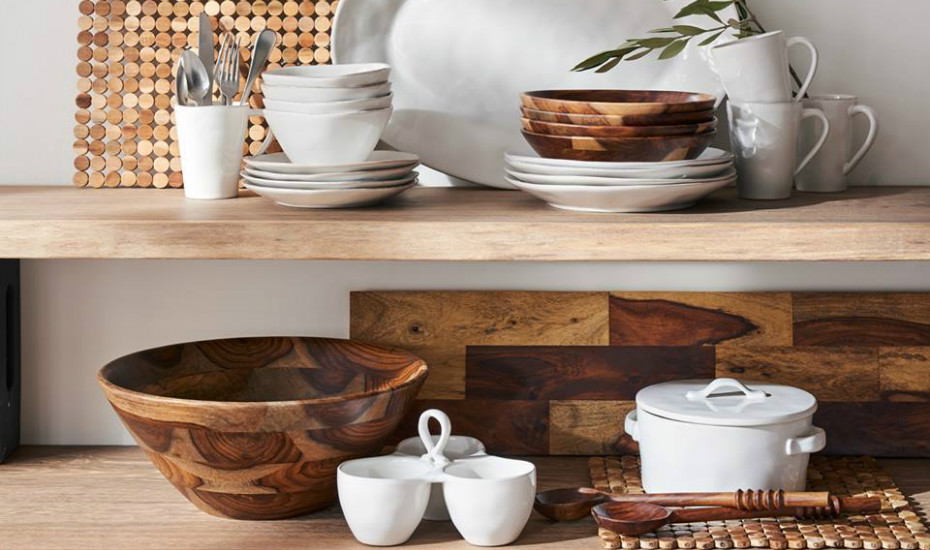 Wood Accessories Kitchen