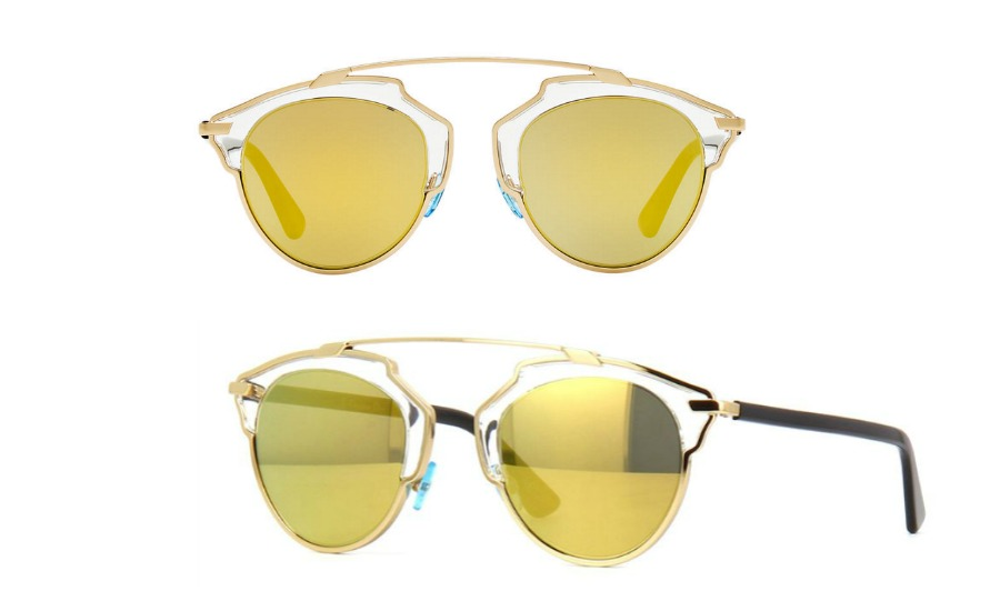 019bfc7f726c DIOR So Real Sunglasses in Gold ( 890 from Nordstorm)