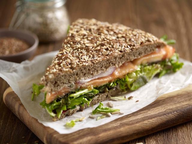 The smoked salmon Kraftwich (Photo credit: Kraftwich)