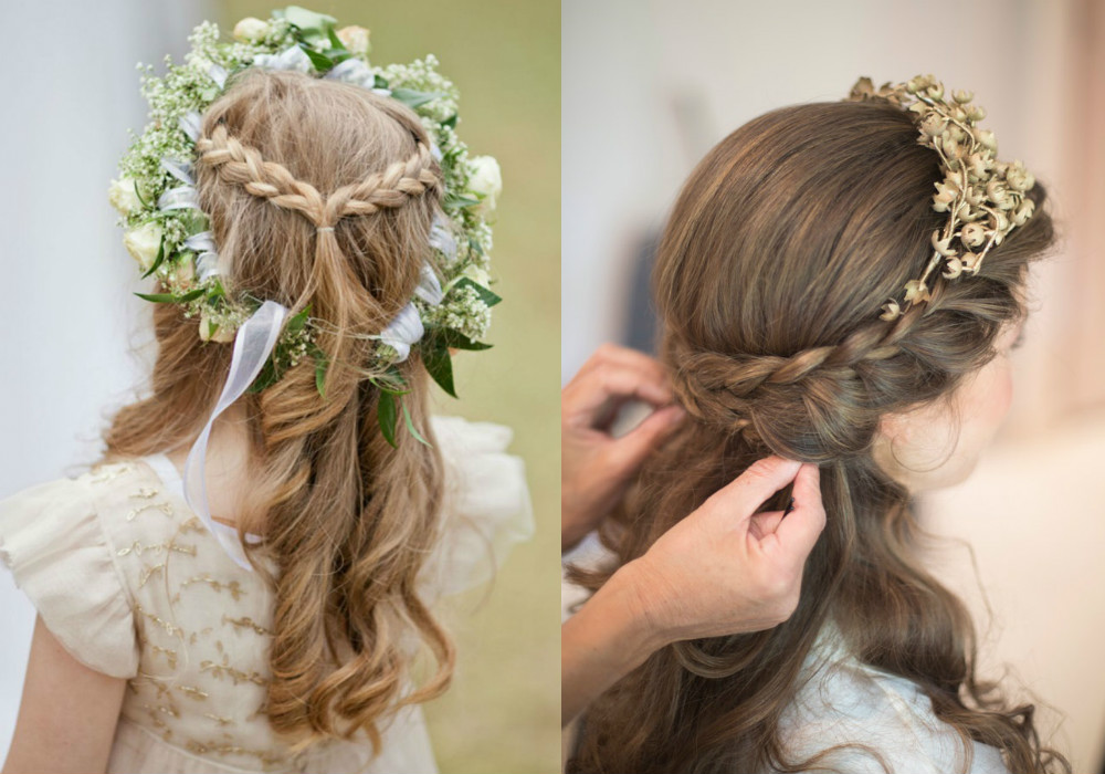 Wedding Hairstyles For Little Girls 6 Cute Flower Girl Hairdos