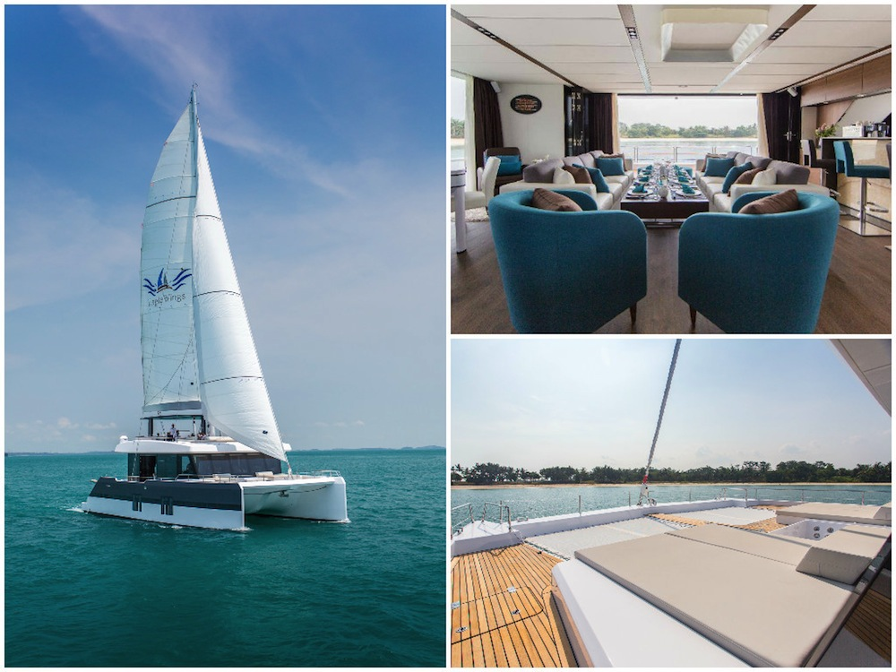 Yacht weddings in Singapore: Where to hire a boat for a sea