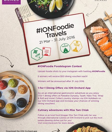 Ionfoodie travels explore the world on a culinary food adventure date friday april 1 sunday july 31 venue ion orchard 2 orchard turn singapore 238801 contact kailinleewebershandwick website forumfinder Choice Image